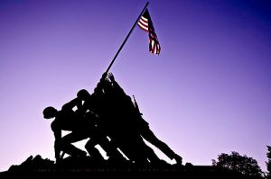 Iwo Jima Memorial | By Francisco Diez, via Wikimedia Commons